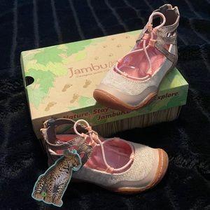 Girls JambuKD summer shoes, SZ10M, pink, NEW